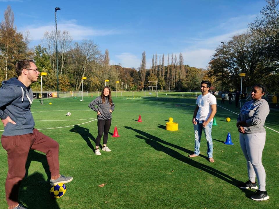 Sportdag met jongeren in coronatijden!