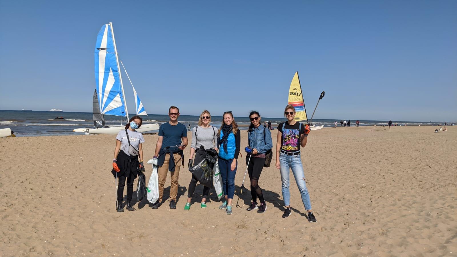 Wereld opruimdag – Beach Clean Up Scheveningen