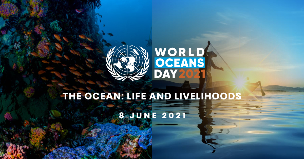 Wereld Oceanen Dag – 08 juni 2021